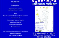 DOBRODELNA PRIREDITEV z glasbeno-gledališko predstavo ČAROVNIJA