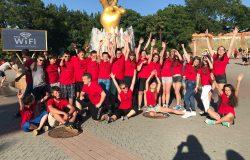 Devetošolci za zaključek v Gardaland