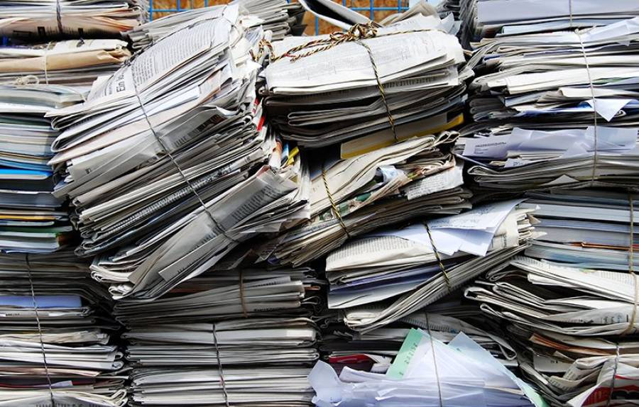 Spomladanska akcija zbiranja starega papirja